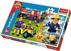 Trefl Puzzle Maxi 24 dílků - Požárník Sam  14290