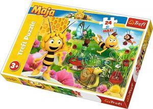 Trefl Puzzle Maxi 24 dílků - Včelka Mája - ve světě Máji  14297