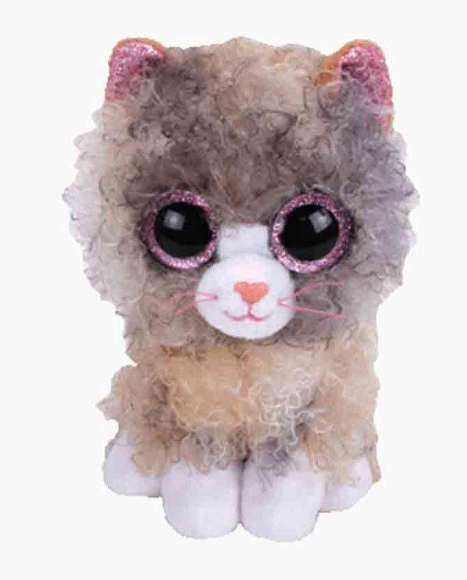 TY Beanie Boos - Scrappy - šedá kočička 36277 - 15 cm plyšák TY Inc. ( Meteor )