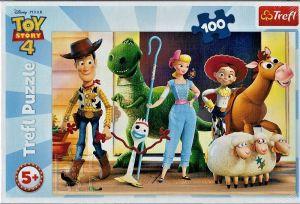 Puzzle Trefl 100 dílků - Toy Story - bavme se  16356