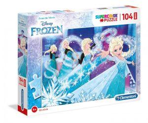 Clementoni puzzle 104 dílků MAXI - Frozen - Ledové království   23729