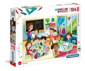 Clementoni puzzle 104 dílků MAXI - Moje třída   23732