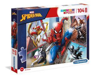 Clementoni puzzle 104 dílků MAXI - Spiderman   23734