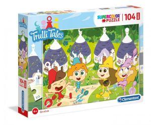Clementoni puzzle 104 dílků MAXI - Trulli Tales    23731