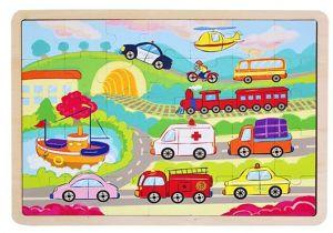 Dřěvěné puzzle Brimarex - Playme - 35 dílků - doprava   40 x 30 cm