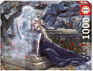 EDUCA Puzzle 1000 dílků - Nevěsta v černém   17661