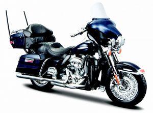 Maisto  Harley Davidson  FLHTK Electra Glide Ultra Limited  2013 1:18 blue