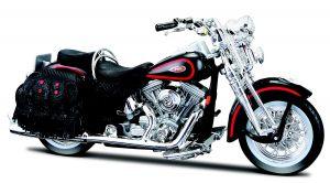 Maisto  Harley Davidson  FLSTS Heritage Springer  1998  1:18 black