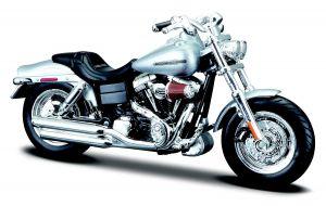 Maisto  Harley Davidson  FXDFSE CVO Fat Bob  2009  1:18 silver