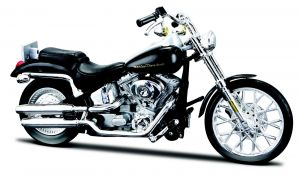 Maisto  Harley Davidson FXSTD Softail Deuce 2000 1:18 black