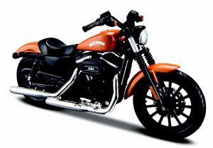 Maisto  Harley Davidson  Sportster  Iron 883  2014 1:18 orange