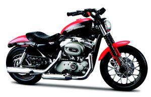 Maisto  Harley Davidson  XL 1200N Nighster   2007 1:18 red