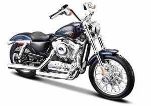 Maisto  Harley Davidson  XL 1200V Seventy Two  2012 1:18 blue