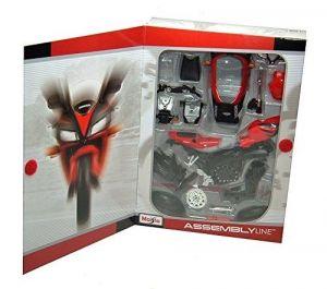 Maisto motorka 1:12 Kit - Honda CBR 1000RR - červená