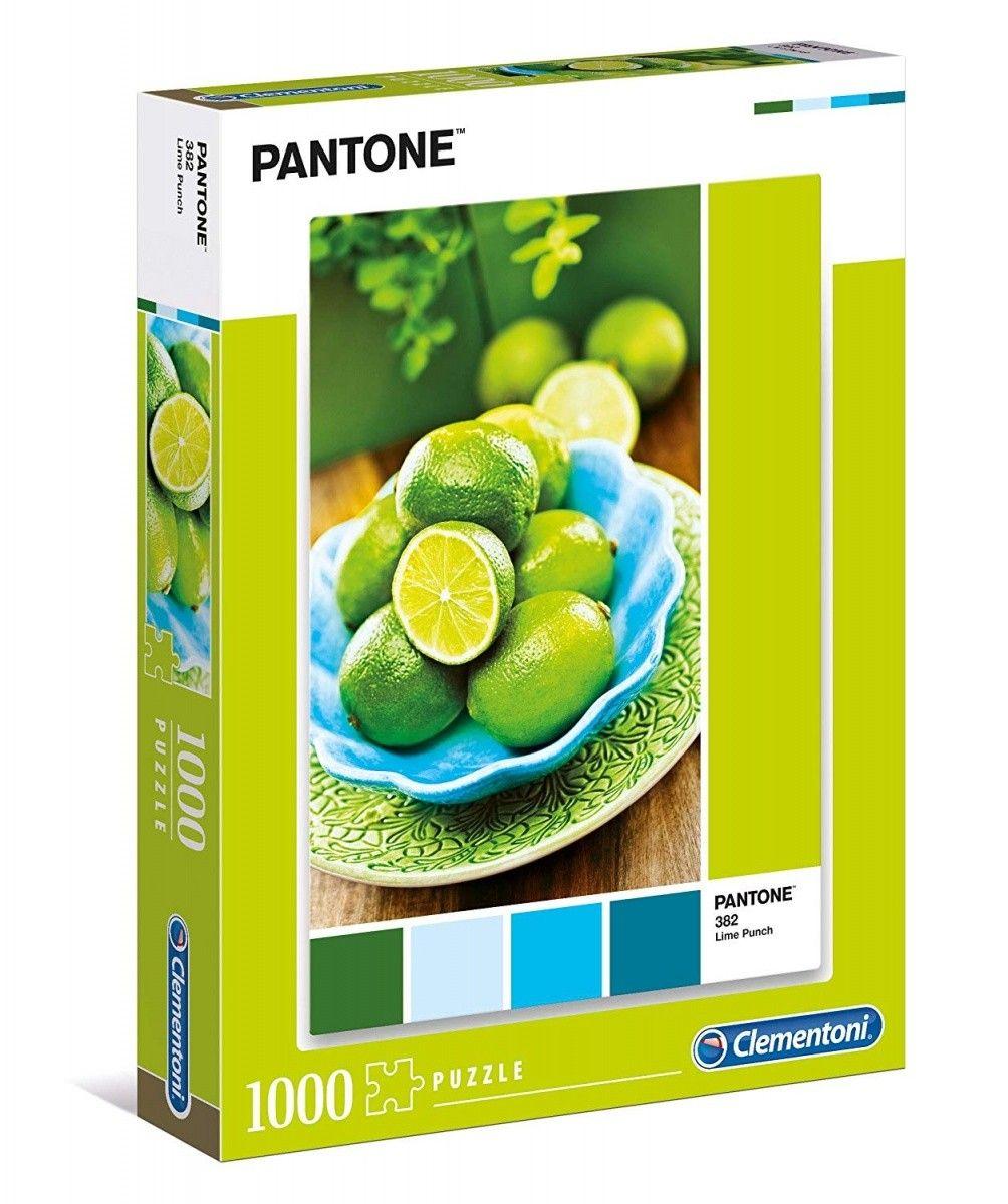 Puzzle Clementoni 1000 dílků - Pantone - Limetky 39492