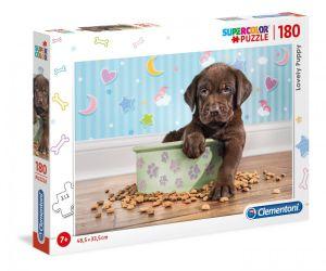 Puzzle Clementoni 180 dílků  -  Štěňátko   29754