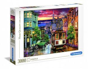 Puzzle Clementoni 3000 dílků  - San Francisco   33547