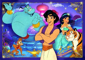 Puzzle Clementoni - 60 dílků - Aladin 26053