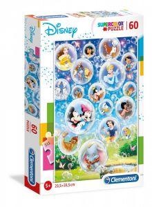Puzzle Clementoni  60 dílků  Disney classic    26049