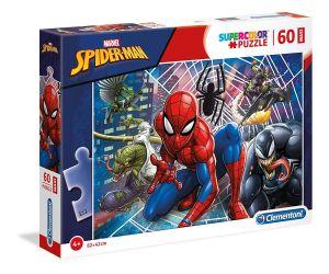 Puzzle Clementoni 60 dílků MAXI   -  Spiderman   26444