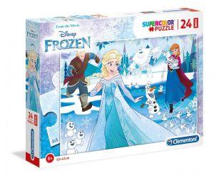 Puzzle Clementoni  MAXI  - 24 dílků  - Frozen - Ledové království  28502