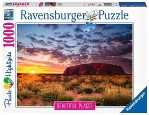 puzzle Ravensburger 1000 dílků - Ayers Rock  Austrálie 151554