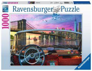 puzzle Ravensburger 1000 dílků - Brooklynský most  152674