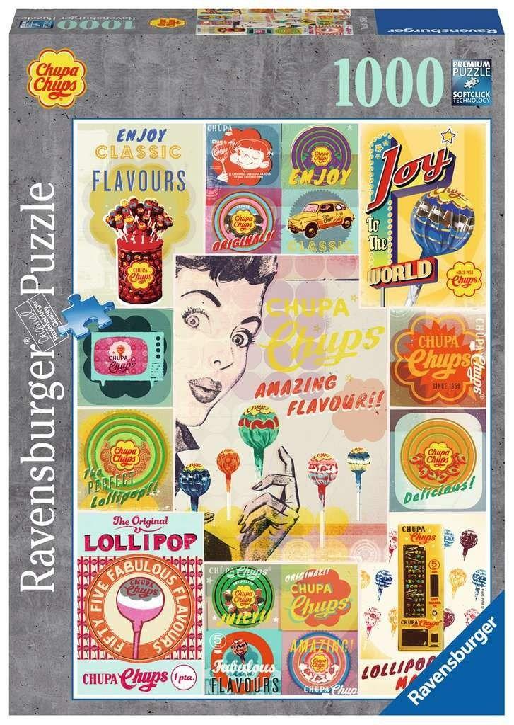 puzzle Ravensburger 1000 dílků - Chupa Chups 152582