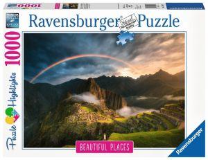 puzzle Ravensburger 1000 dílků - Duha nad Machu Picchu  151585