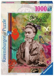 puzzle Ravensburger 1000 dílků - Frida Kahlo - De Rivera  154012