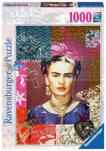 puzzle Ravensburger 1000 dílků - Frida Kahlo - portrét   154135