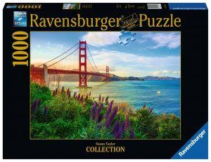 puzzle Ravensburger 1000 dílků - Golden Gate  152896