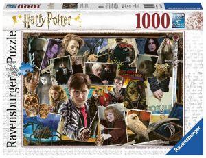 puzzle Ravensburger 1000 dílků - Harry Potter - Voldemort  151707