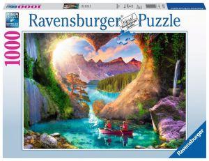 puzzle Ravensburger 1000 dílků - Jeskyně lásky 152728