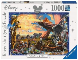 puzzle Ravensburger 1000 dílků - Lví král  197477