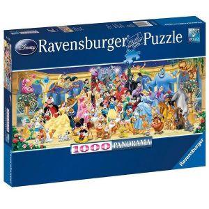 Puzzle Ravensburger 1000 dílků  panorama - Disney  151097