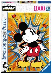 puzzle Ravensburger 1000 dílků - Retro Mickey  153916