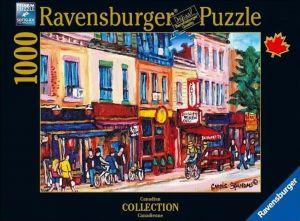 puzzle Ravensburger 1000 dílků - Saint - Laurent Montreal  196241