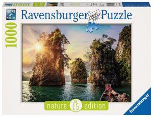 puzzle Ravensburger 1000 dílků - Skály v Thajsku 139682
