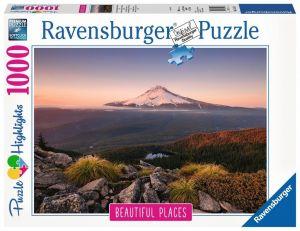 puzzle Ravensburger 1000 dílků - Sopka v Oregonu   151578