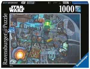 puzzle Ravensburger 1000 dílků - Star Wars - kde je Žvejkal ?  139767