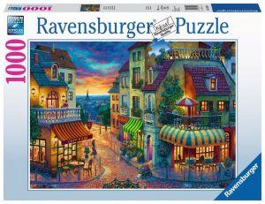 puzzle Ravensburger 1000 dílků - Večer v Paříži  152650