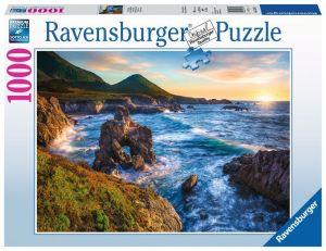 puzzle Ravensburger 1000 dílků - Západ slunce nad mořem  152872
