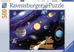puzzle Ravensburger  500 dílků - Sluneční soustava  147755