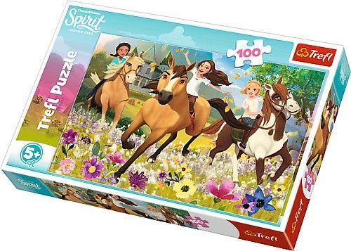 Puzzle Trefl 100 dílků - Spirit - jdi za svými sny 16362
