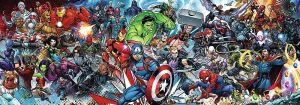 Puzzle TREFL 1000 dílků - panorama - Avengers 29047
