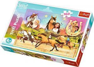 Puzzle   Trefl  160 dílků - Spirit - tři kamarádky 15370