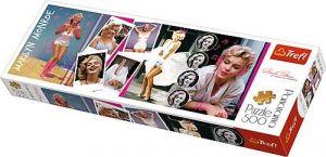 puzzle Trefl 500 dílků panorama - Marilyn  Monroe  - koláž  29509