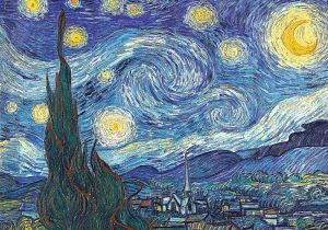 TREFL Puzzle 1000 dílků Gogh - Hvězdná noc 10560