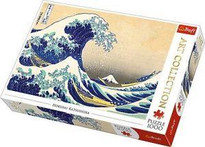 TREFL  Puzzle  1000 dílků  Hokusai - Velká vlna u Kanagawy 10521